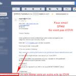 Attention aux emails frauduleux qui se font passer pour OVH