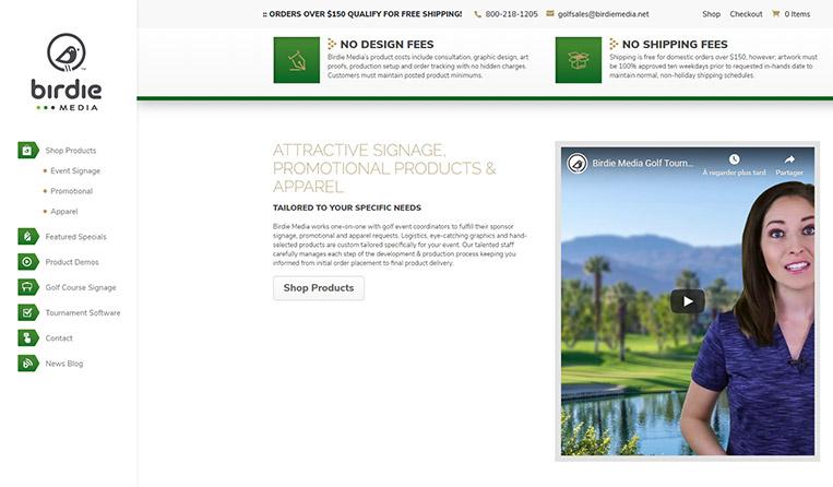site de golf